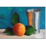 apricot and silver object
